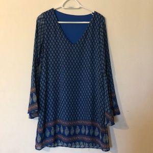 Dresses & Skirts - Shear long sleeve Boho dress